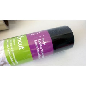 Cricut Iron-On  Roll of Iron On Thermo Transfers - Black  20-02032